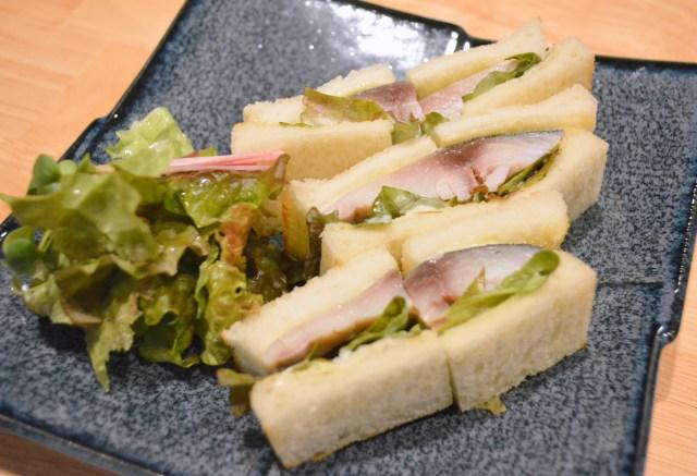 【3月8日はサバの日】奈良で『シメ鯖サンドイッチ』が食べられるって知ってた? マジでウマ過ぎてあっという間に完食しちゃったよ!