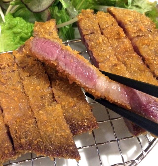 ついに来た牛かつ新時代! 熟成肉を使った「30日熟成 牛かつ」を食えるお店『ぎゅう道』オープン!! 東京・銀座