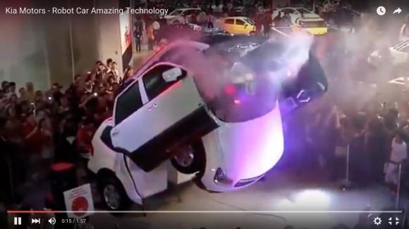【動画】マジかよスゲー! トランスフォーマーのように変形するRV車がモーターショーに登場!!