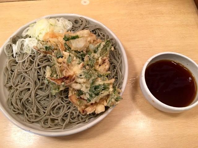 【立ちそば放浪記】口の中で炸裂するプリプリ麺! 新潟名物「へぎそば」をワンコインで味わえる東京・茅場町『がんぎ』
