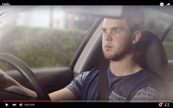 【注意喚起】運転中の「ながらスマホ」がどれだけ危険なのか一発でわかる動画