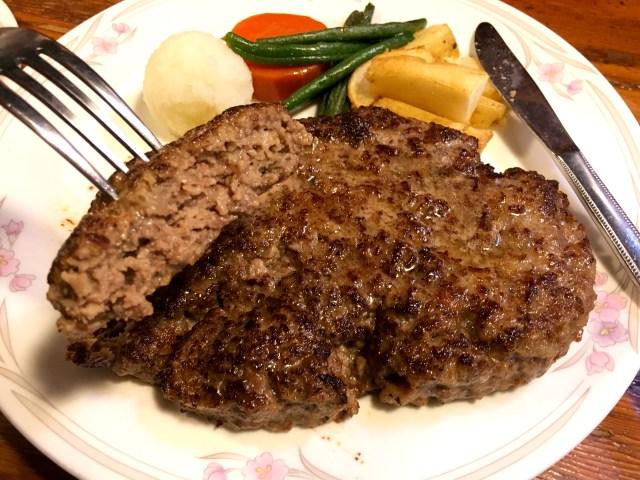 【肉好き必見】皿を埋め尽くす肉の大陸! 日本で唯一2000gのハンバーグが食べられる店・高田馬場『ザ・ハンバーグ』