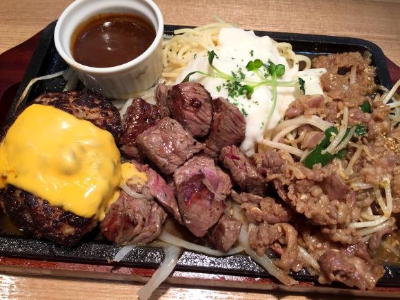 【肉祭り】ハンバーグ・ステーキ・焼肉の鬼コンボ! 格闘家「加藤友弥」さんが経営する『肉めし かとう』が上野にオープン!!