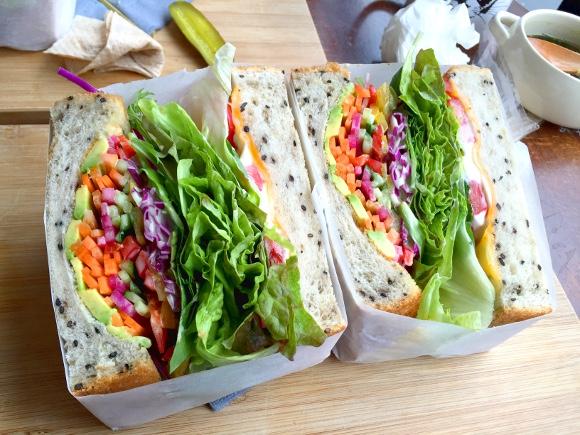 【意識高い系】代官山「キングジョージ」のサンドイッチの断面が美しすぎる! 写真だけでも撮りに通いつめたいレベル!!