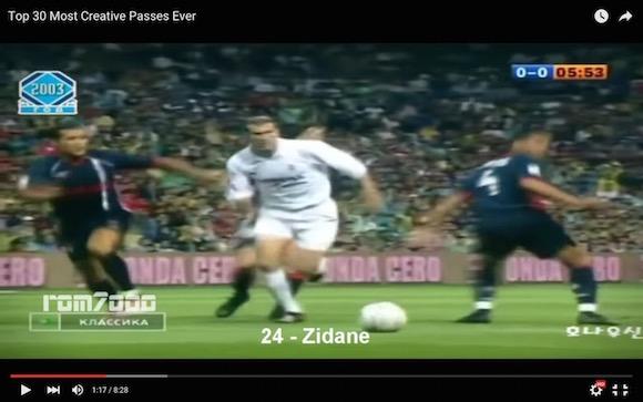 【衝撃サッカー動画】創造性溢れる変態パス30選