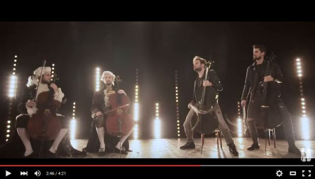 チェリスト「2CELLOS」がベートーヴェンとレッド・ツェッペリンを融合させた演奏を披露! 圧巻のカッコ良さはひれ伏してしまいそうなレベルだぞ!!