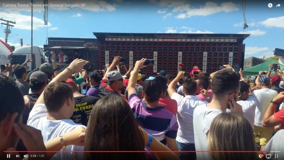 【動画あり】時空が割れる大音量!「192個のウーファー」を積んだトレーラーのサウンドが激ヤバすぎる!!