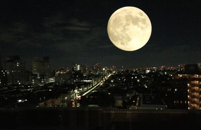 【緊急速報】ウソみたいに月がデカい