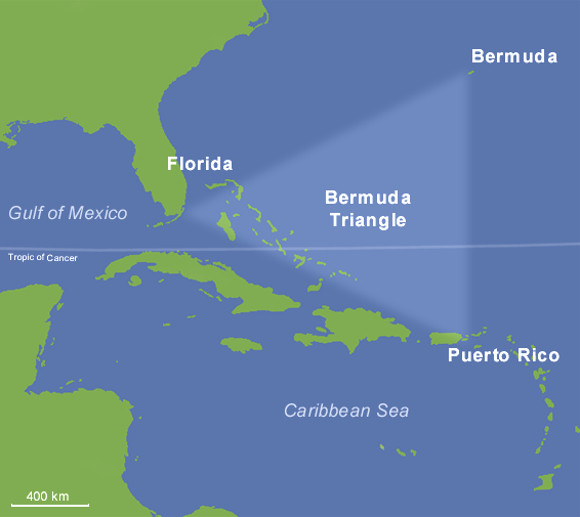 """【ざっくり解説】船が """"突然消える"""" 魔の三角海域「バミューダトライアングル」とは何なのか?"""