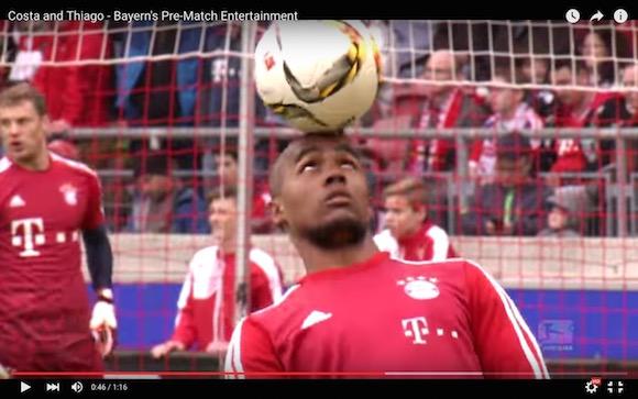 【衝撃サッカー動画】超一流選手のウォーミングアップがまるでサーカス! 海外メディアも「エンタメだ」と大絶賛