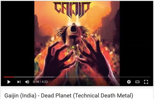 【辺境音楽マニア】「宇宙人(Alien)」を誤訳した可能性が濃厚? インドのテクニカルデスメタル「Gaijin」