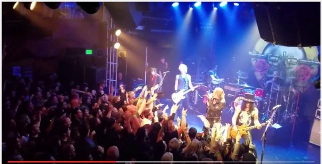 再結成は本当だった! ガンズ・アンド・ローゼズが4月1日に行ったサプライズライブの映像が素晴らしすぎて涙が出る!!