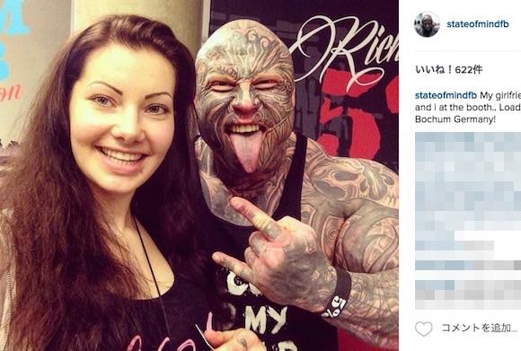 【ほぼ耳無し芳一】顔から全身にかけてタトゥーを入れた男性が怖すぎる