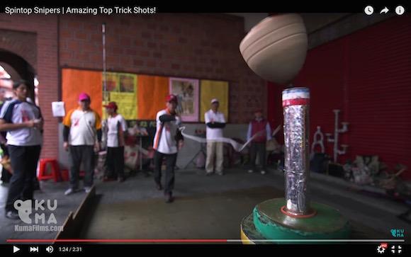 【神業動画】もはや神々の遊び! 台湾の達人たちによる「コマ回し」がハイレベルすぎる