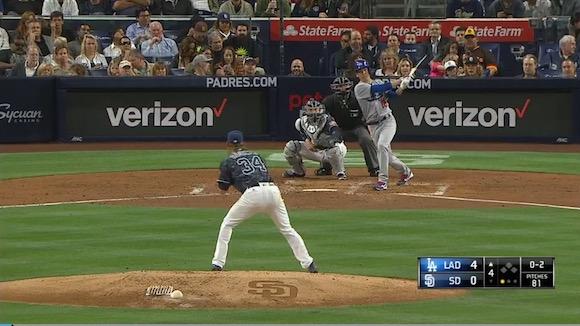 【衝撃野球動画】メジャーデビューした前田健太投手が初登板でホームラン! レフトスタンドへ豪快に放物線を描く