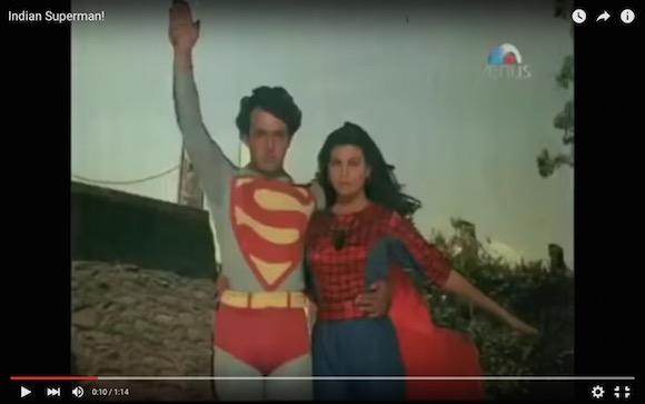 【謎の中毒性】世界一ダサいインドの「スーパーマン」が永遠に見ていたいレベルでおもしろい