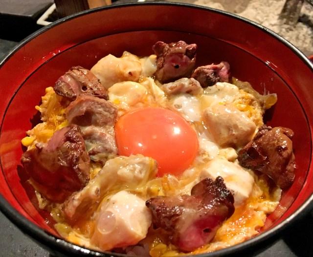 【グルメ】鶏味座(とりみくら)の親子丼が美しすぎて見惚れるレベル! 思わず食べるのをためらう / 東京・青山