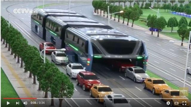 【!?】中国で1200人乗りのバスが発表! 「無茶しやがって……」と思ったらパトレイバーみたいでカッコイイ / 2016年後半に運転予定