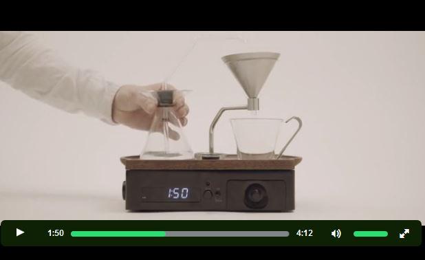 「コーヒーを沸かしてくれる目覚まし時計」が登場! これがあれば朝起きるのが楽しみになっちゃうぞ!!