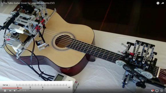 【動画あり】未来感ハンパねえ! ついに「LEGOがギターを弾く時代」が到来する