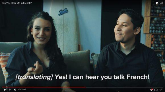 【動画】リアル「ほんやくコンニャク」キターーー! 『耳に装着するだけで翻訳してくれるイヤホン』で言葉の壁崩壊待ったなし!!