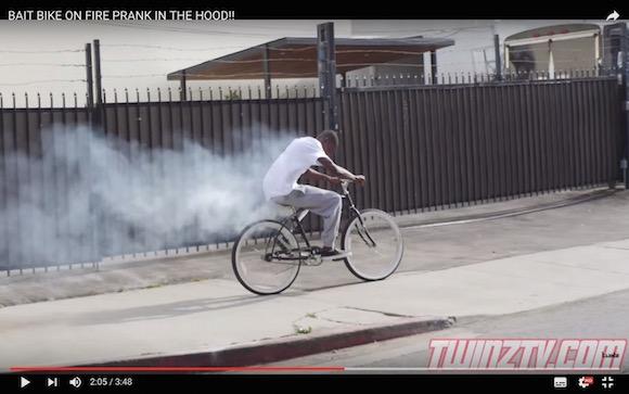 【検証動画】持ち主以外が乗ったら爆発!? 絶対に盗ませない自転車がコレだ!!