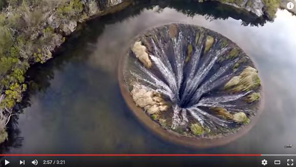 まさに神秘! 地球の肛門といっても差し支えないポルトガルの超巨大ダム映像