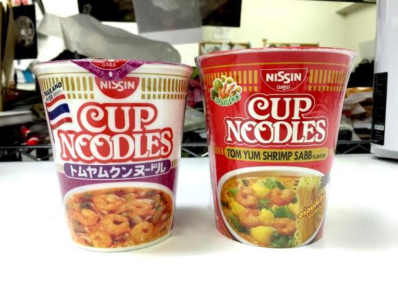 【検証】日清カップヌードル「日本トムヤムクン味」と「本場トムヤムクン味」を食べ比べてみた