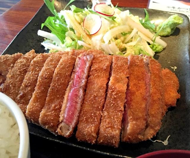 【美しき赤身】昼と夜で違うお店 「牛かつ 宮下」で牛かつダブルを食す / 東京・渋谷