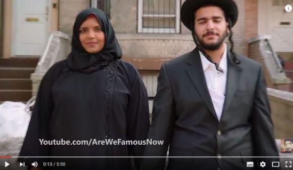 【動画あり】ユダヤ教徒とイスラム教徒のカップルが「一緒に手をつないで歩いたら」こうなった!