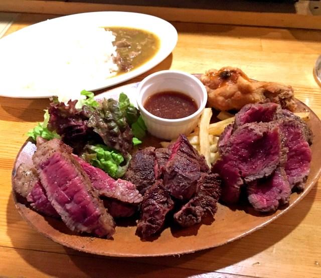 これぞコスパ最強ステーキランチ! 3種の肉が250グラム乗って950円!! 東京・高円寺「パテ屋」が素敵すぎる