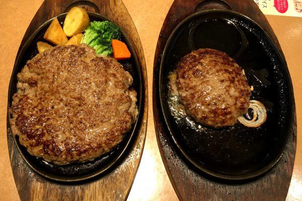 【肉の大陸】ハンバーグ800g! ステーキのどんの「3代目横綱ハンバーグ」5月場所で大横綱になってきた!!