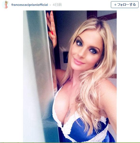 【EURO2016】誰もが見逃せない展開! 金髪美女が「イタリアが優勝したら全部脱ぐ!!」と宣言 / 決戦は7月10日だ!!