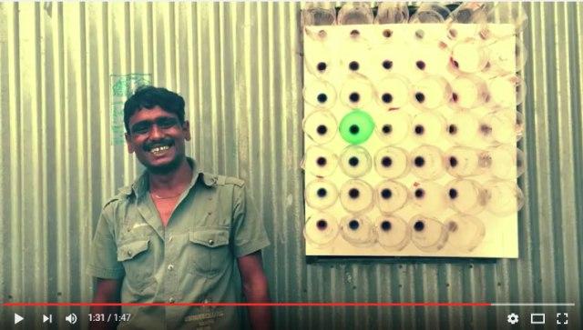【電気代0円】バングラデシュ発「ペットボトルで作るエコクーラー」がナイスアイディアと大注目 / 室温を5度下げる効果! 夏休みの工作にいいかも