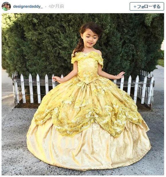 """父ちゃんが作る """"ディズニープリンセス"""" のドレスの完成度が高すぎ! 「こんなパパが欲しい」と言う女の子が続出しちゃいそう!!"""
