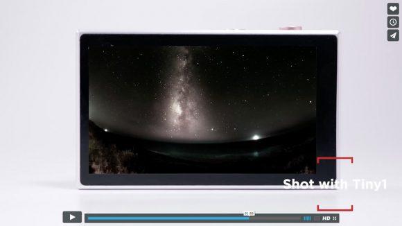 【動画あり】星空が超キレイに撮れる! スマホサイズの「天体撮影用カメラ」が超高性能なのにお手軽価格!!