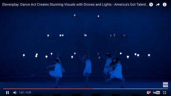 【全米騒然】ドローンと踊る日本人グループ「ELEVENPLAY」に拍手喝采! オーディション番組でみせたダンスがマジすげぇ!!