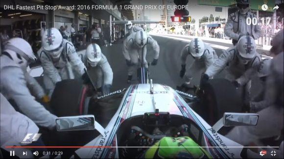 【動画】このスピードを見よ! 世界最速記録を更新した「F1のタイヤ交換」がこれだ!!