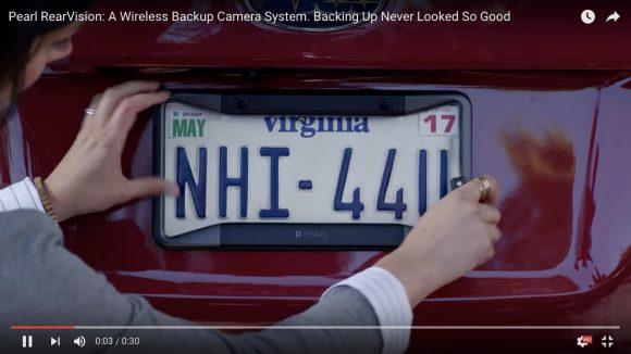 【動画あり】これは大革命や! Appleの元社員が開発した「車用バックモニター」が取り付け簡単で超便利!!