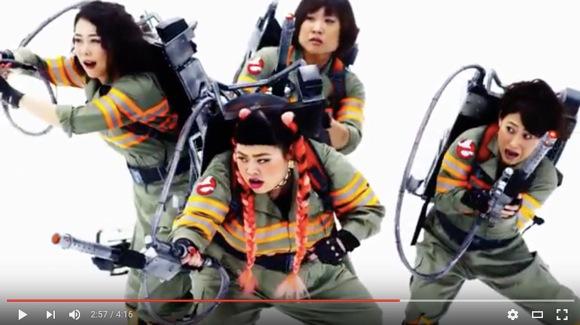 日本の女性芸人が歌った『ゴーストバスターズ』が海外で人気! ネットの声「こっちの曲を映画でも使えばいいのに」「完璧だ」など