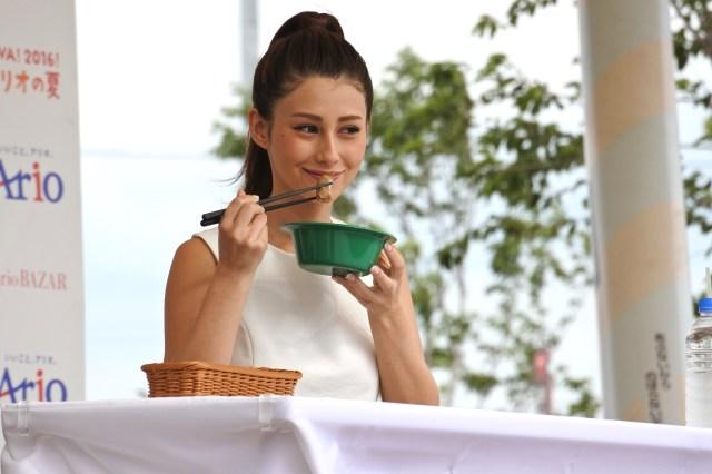【大絶賛】ダレノガレ明美も食べた! アリオの『VIVA!夏』グルメがラテン感100%でマジうまそおおぉぉおお!!!