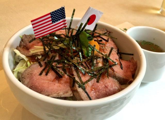 オバマ大統領の広島訪問に合わせて「オバマ丼」が登場していた! 実際に食べたら激ウマ丼と判明!!
