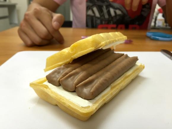 【コスパも最強】ハーゲンダッツ食ってる場合じゃねえ! 自分で作った『ルマンドアイス』が人生屈指の奇跡のウマさ!!