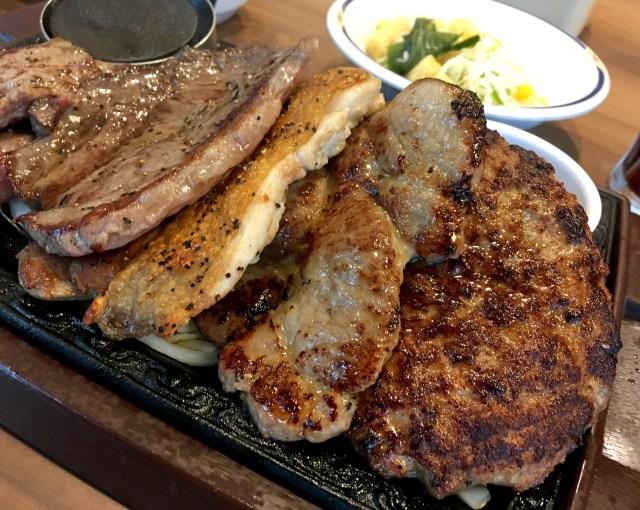 将棋倒しのように肉が折り重なる! ステーキガスト「MEGA5」の肉々しさが尋常ではないッ!!