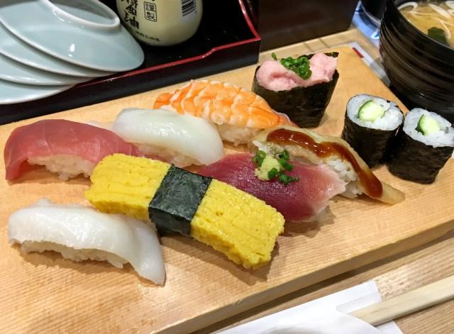 【超お得】東京・新宿のど真ん中でたった500円で寿司が食えるぞ~! すし三崎丸紀伊国屋ビル