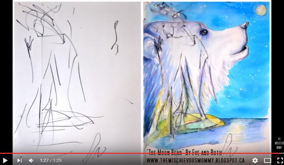 子供の落書きがアーティストの手によって芸術作品に! コラボの一部始終を記録した動画に目が釘付け!!