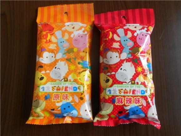 上海ディズニー限定の「ガーデン・オブ・12フレンズ柿ピー」はお子様にも容赦ない麻辣味!