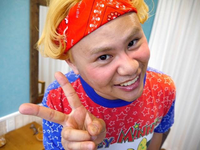 イジリー岡田みたいなオッサンが美容院で「りゅうちぇるにしてください」と言ってみた! 衝撃の結果に美容師もビックリ