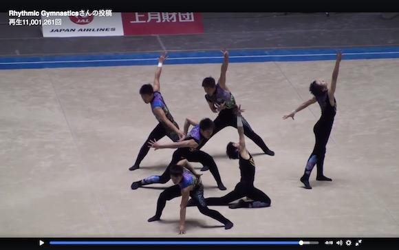 【動画あり】日本の男子高校生による新体操が美しすぎると世界で話題