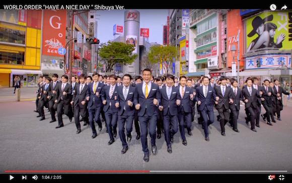 須藤元気さんが復活!『WORLD ORDER』が100人以上のダンサーと渋谷で新パフォーマンスを披露